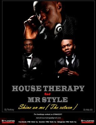 DOWNLOAD House Therapy & Mr Style – Shine On Me (Cover Version