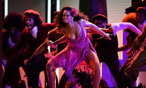 Rihanna, Dancing, Gwara Gwara, Dance, Grammy, Performance