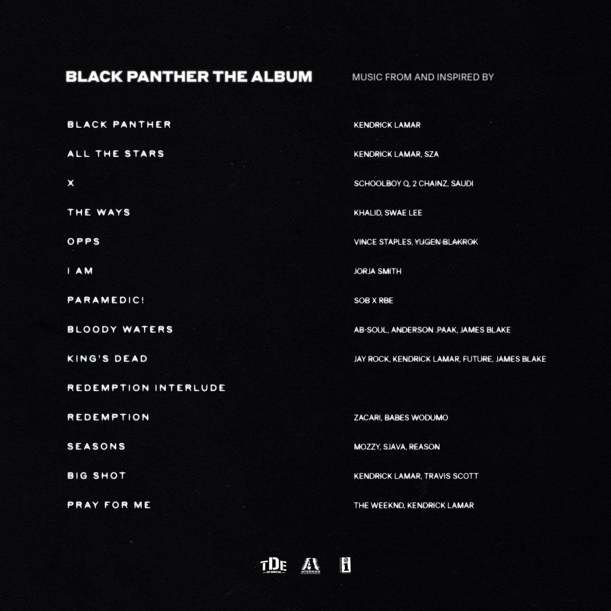 Kendrick Lamar & Various Artists - Black Panther [OST ALBUM], Kendrick Lamar, Various Artists, Black Panther, OST, ALBUM, download, cdq, 320kbps, audiomack, dopefile, datafilehost, toxicwap, fakaza, mp3goo, zip, alac, zippy, album, descarger, gratis, telecharger, baixer, EP, rar, torrent, sharebeast