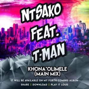 best service acab6 f509d DOWNLOAD Ntsako – Khona'Olimele (Main Mix) Ft. Tman – ZAMUSIC