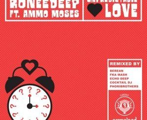 RoneeDeep, Ammo Moses, Unpredictable Love (FKA Mash Re-Glitch Mix), FKA Mash, mp3, download, datafilehost, fakaza, Deep House Mix, Deep House, Deep House Music, Deep Tech, Afro Deep Tech, House Music