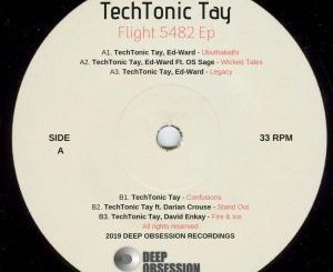TechTonic Tay, Wicked Tales (Original Mix), Ed-Ward, OS Sage, mp3, download, datafilehost, fakaza, Deep House Mix, Deep House, Deep House Music, Deep Tech, Afro Deep Tech, House Music
