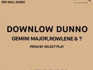 Gemini Major, Rowlene, ?, Downlow Dunno, mp3, download, datafilehost, fakaza, Hiphop, Hip hop music, Hip Hop Songs, Hip Hop Mix, Hip Hop, Rap, Rap Music