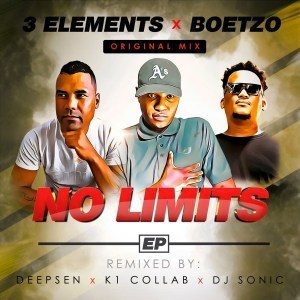 3Elements, Boetzo, No Limits, download ,zip, zippyshare, fakaza, EP, datafilehost, album, Afro House, Afro House 2019, Afro House Mix, Afro House Music, Afro Tech, House Music