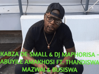 Kabza De Small, DJ Maphorisa, Abuyile Amakhosi (Sample), Thandiswa Mazwai, Busiswa, mp3, Afro House, Afro House 2019, Afro House Mix, Afro House Music, Afro Tech, House Musicdownload, datafilehost, toxicwap, fakaza,