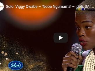 Viggy Qwabe, Noba Ngumama (Idols SA), mp3, download, datafilehost, toxicwap, fakaza, Afro House, Afro House 2019, Afro House Mix, Afro House Music, Afro Tech, House Music