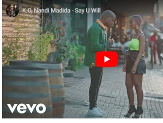 K.O, Nandi Madida, Say U Will, Video, mp3, download, datafilehost, toxicwap, fakaza, Afro House, Afro House 2019, Afro House Mix, Afro House Music, Afro Tech, House Music