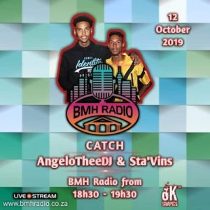 AngeloTheeDJ, DJ Sta Vins, Sgubhu Selections BMH Radio Mix, mp3, download, datafilehost, toxicwap, fakaza, House Music, Amapiano, Amapiano 2019, Amapiano Mix, Amapiano Music, House Music