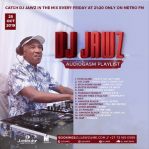 DJ Jawz , The No.1 Party DJ Mix #23, Audiogasm Playlist, mp3, download, datafilehost, toxicwap, fakaza, Afro House, Afro House 2019, Afro House Mix, Afro House Music, Afro Tech, House Music
