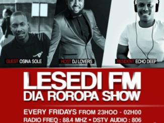 Echo Deep, #DiaRoropa Mix on Lesedi FM 01.09.19, mp3, download, datafilehost, toxicwap, fakaza, Afro House, Afro House 2019, Afro House Mix, Afro House Music, Afro Tech, House Music